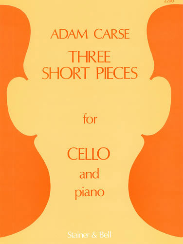 SB-2200 - Three Short Pieces for Cello and Piano Default title