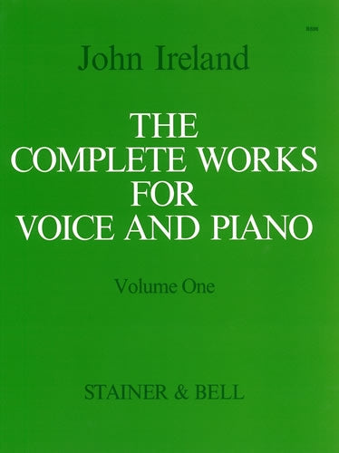 SB-B596 - The Complete Works for Voice and Piano. Volume 1: High Voice Default title