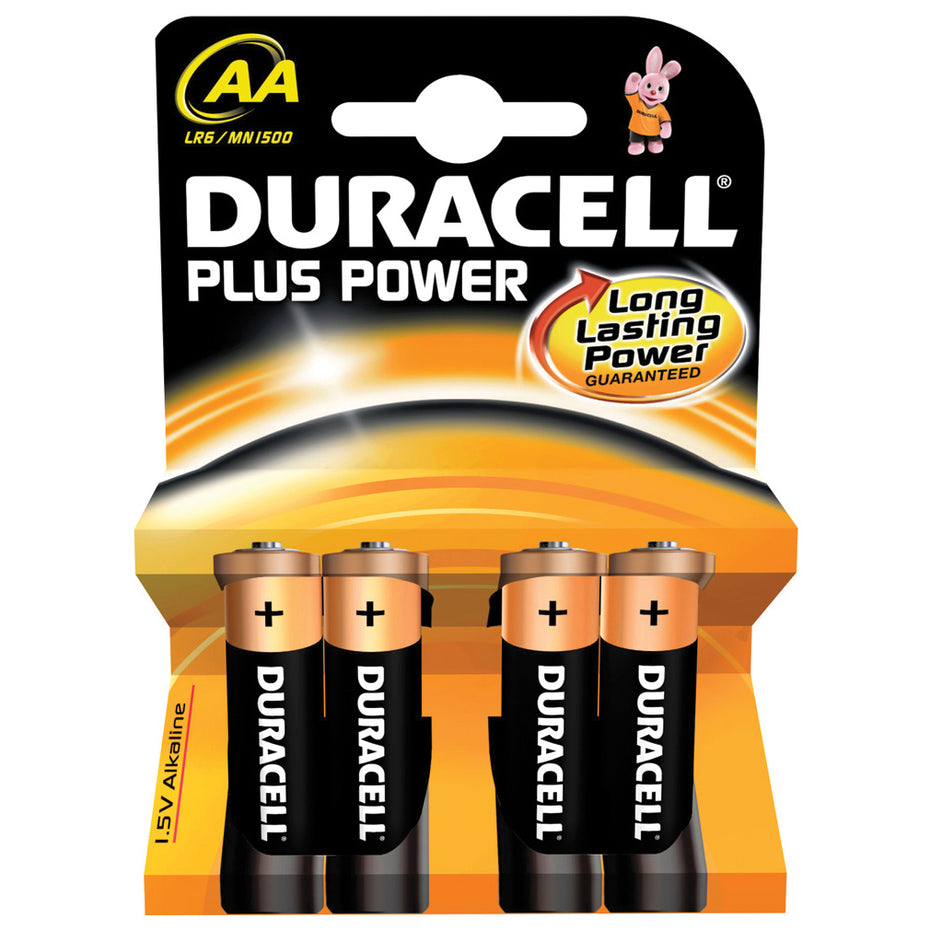 SK656955 - Duracell alkaline pack of 4 AA batteries Default title