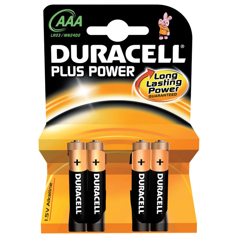 SK656956 - Duracell alkaline pack of 4 AAA batteries Default title