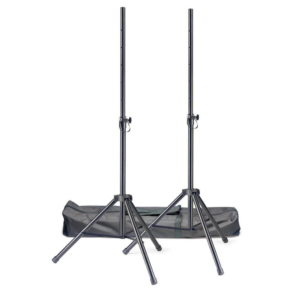 SPSQ10-SET - Stagg steel pair of speaker stands Default title