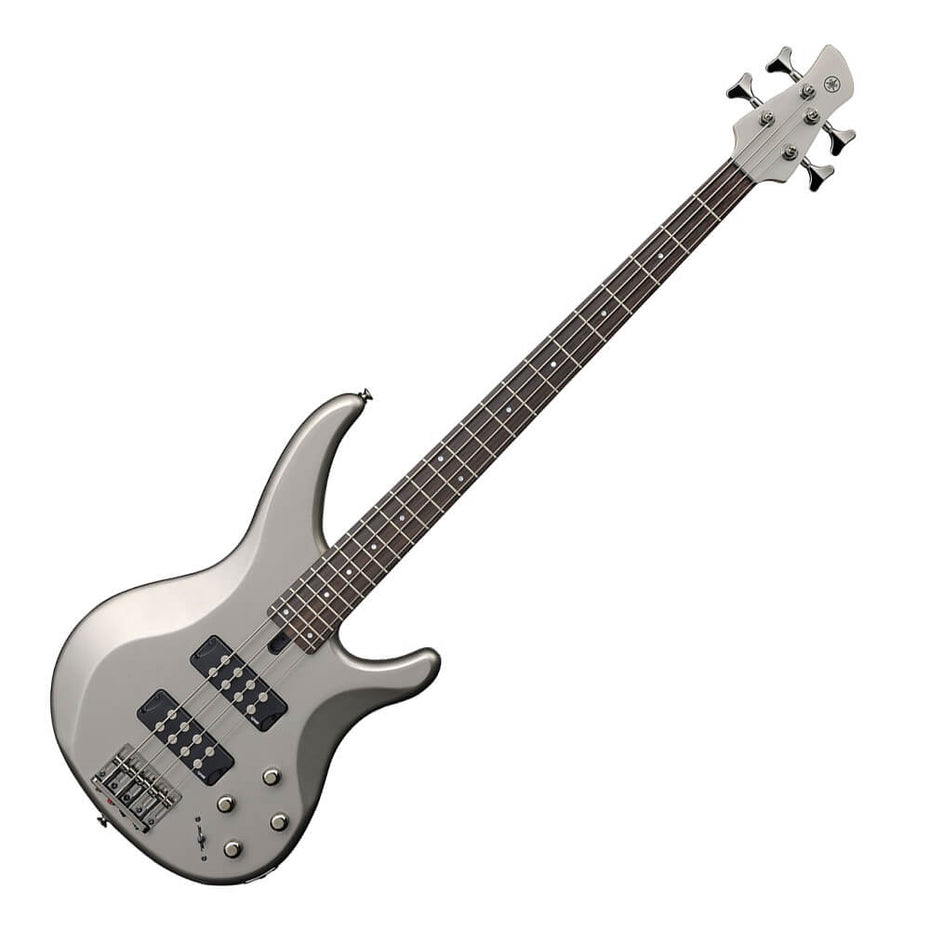 TRBX304-PW - Yamaha TRBX304 bass guitar Pewter