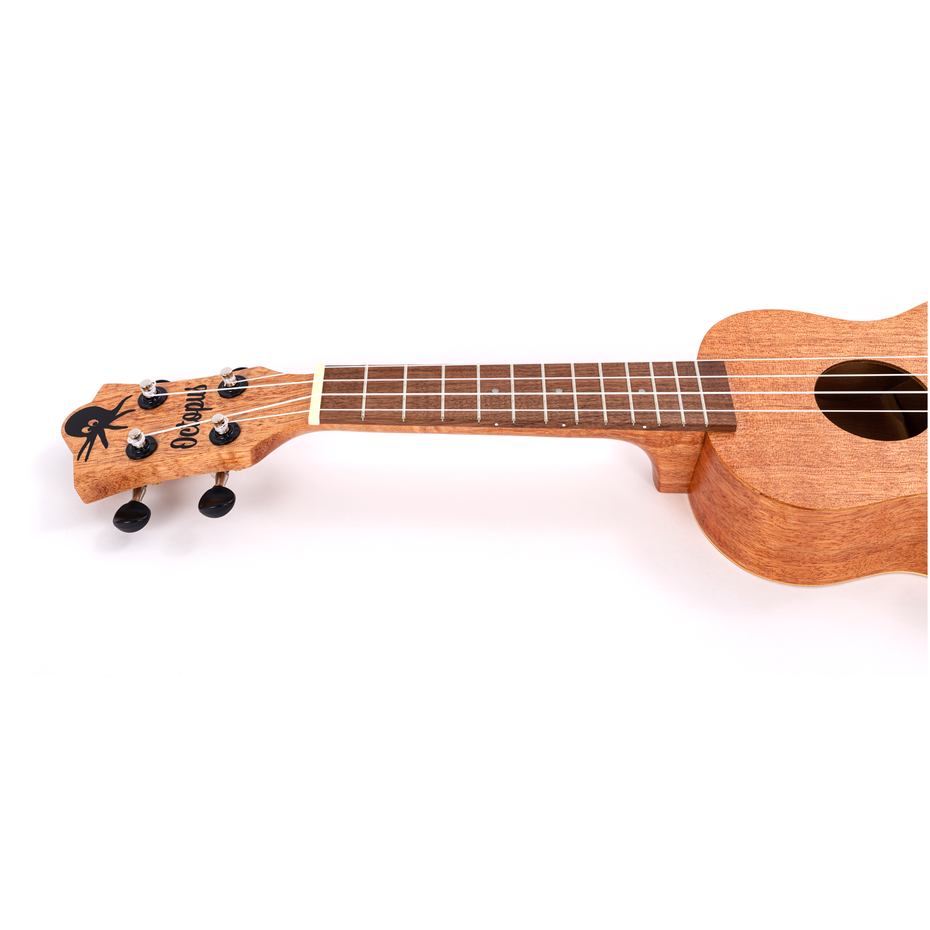 UK205-NAT - Octopus UK205 New 2021 soprano ukulele Natural