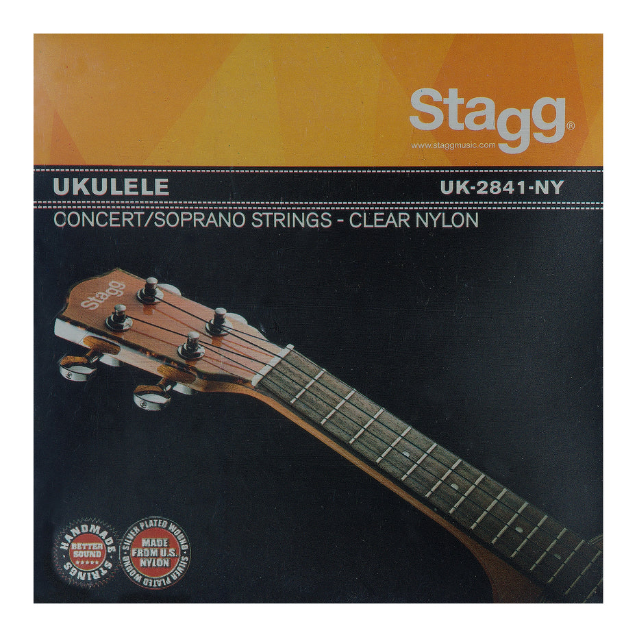 UK2841NY - Stagg soprano/concert ukulele set of strings Default title