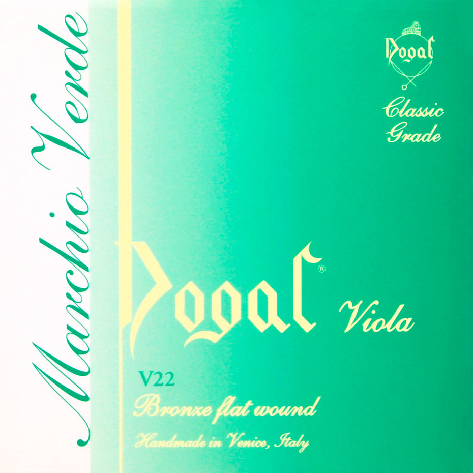 V22M,V22Q - Dogal Green viola strings set 14