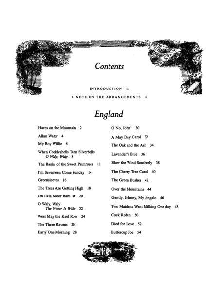 VF1880 - Folksongs of England, Ireland, Scotland & Wales Default title