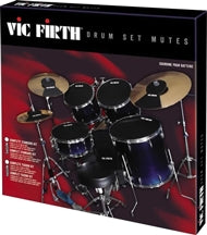 VFMUTEPP3 - Vic Firth silencer drum and cymbal mute set 22