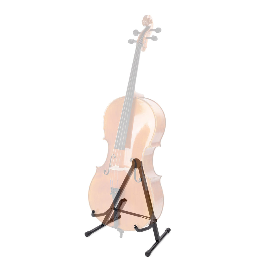 VS-102 - String Workshop compact cello stand with integrated bow holder Default title