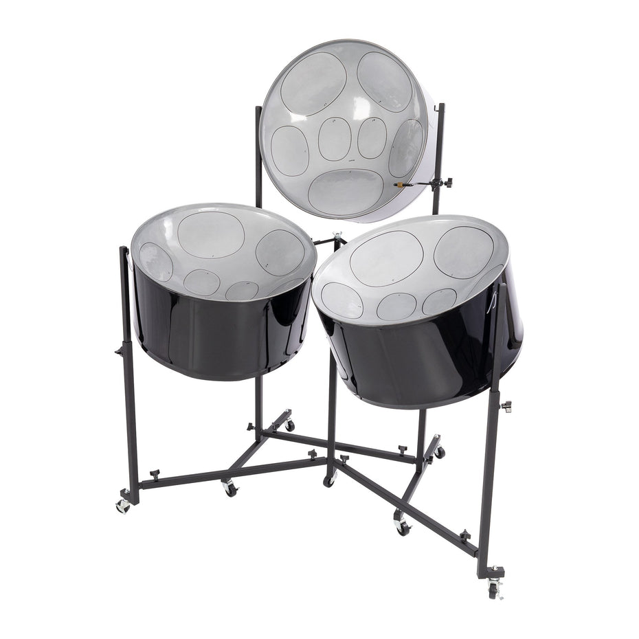 PP9120 - Percussion Plus Import Series triple cello steel pans, painted finish Default title