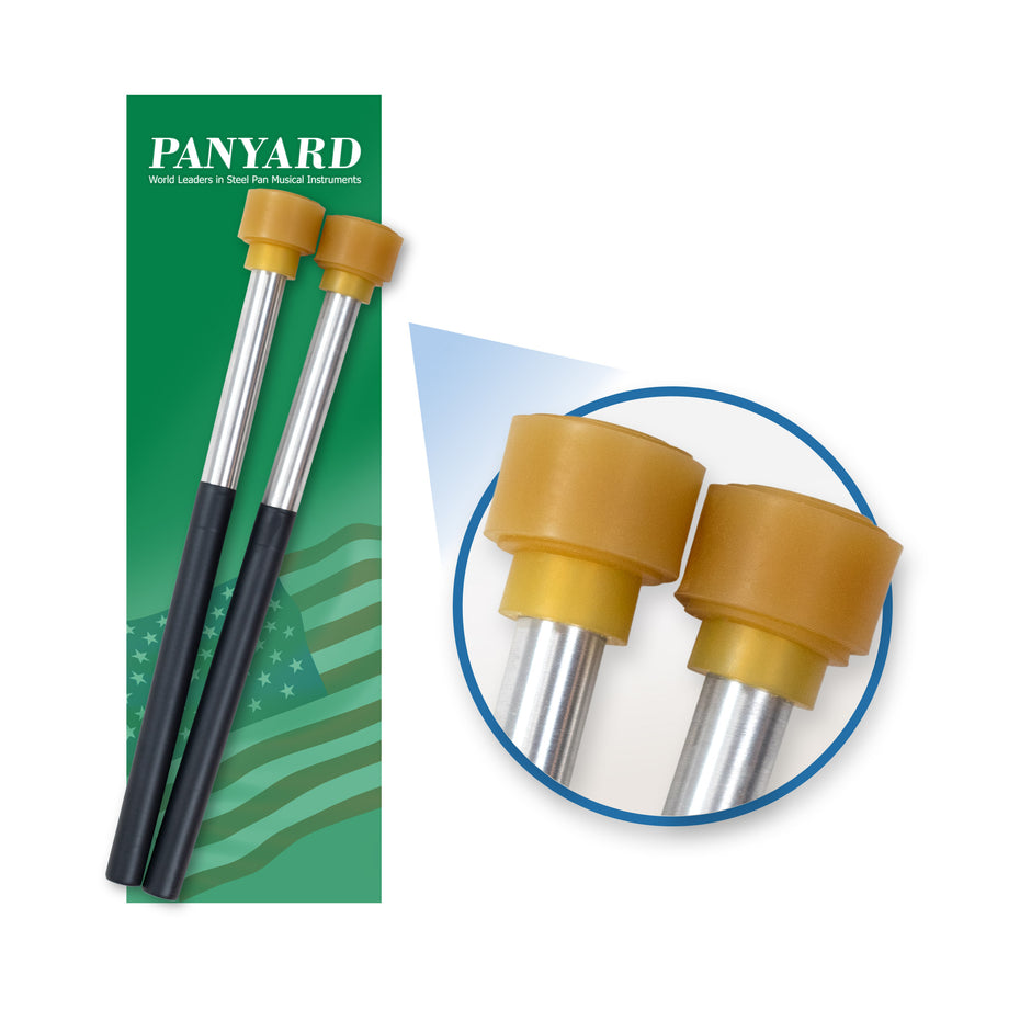 W4064 - Panyard classic aluminium cello or guitar steel pan mallets - sticks Default title