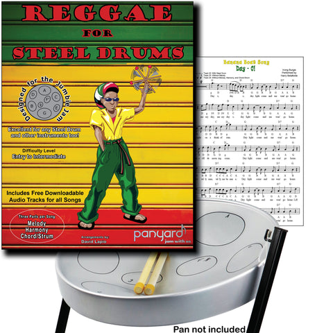 JJ5520 - Jumbie Jam - Reggae for Steel Drums Default title