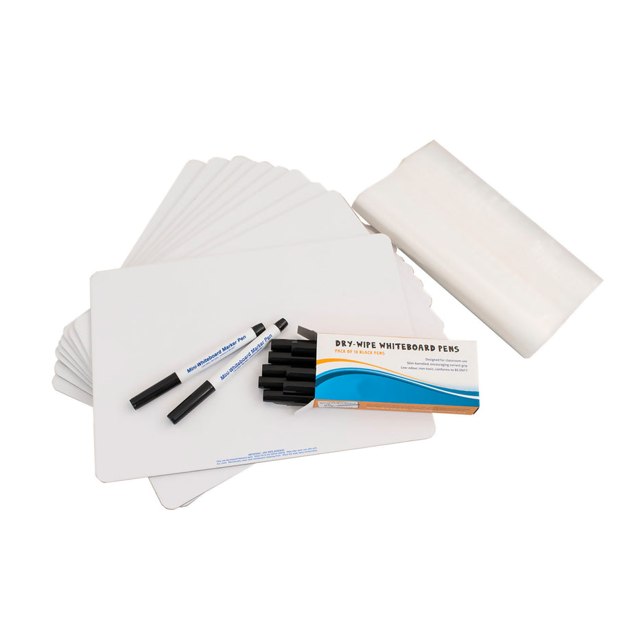 WB02-10 - A4 plain whiteboard - pack of 10 Default title