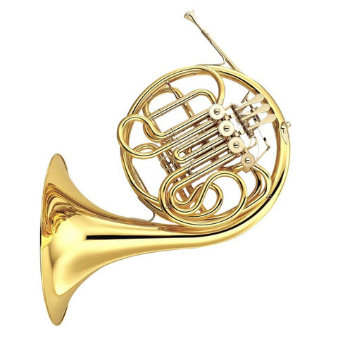 YHR567 - Yamaha YHR567 double F/B♭ French horn outfit Fixed bell