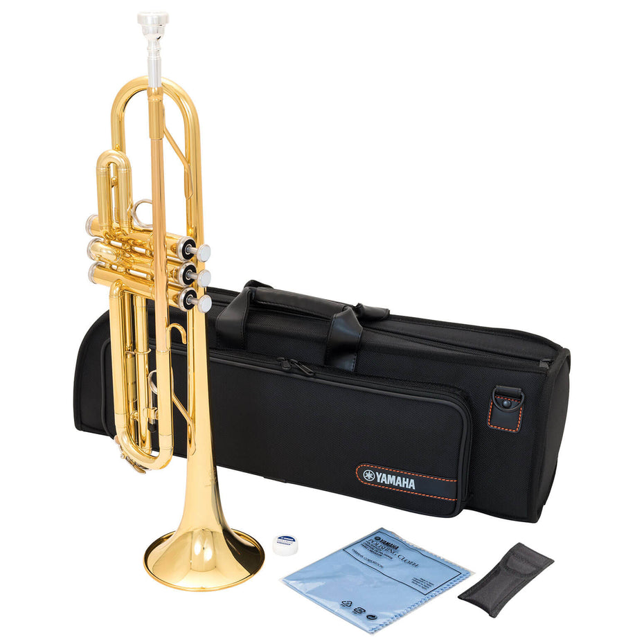 YTR2330 - Yamaha YTR2330 student Bb trumpet outfit Gold lacquer