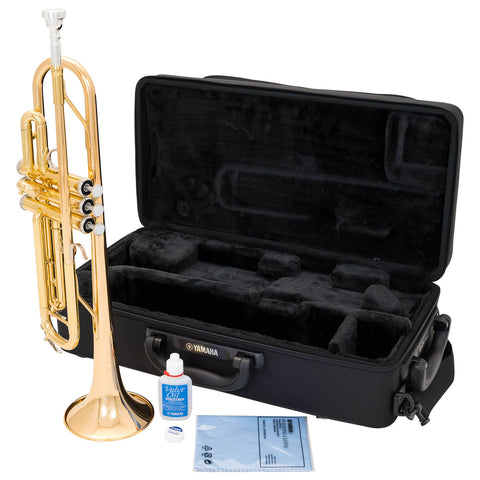 YTR4335GII - Yamaha YTR4335GII Bb trumpet Gold lacquer