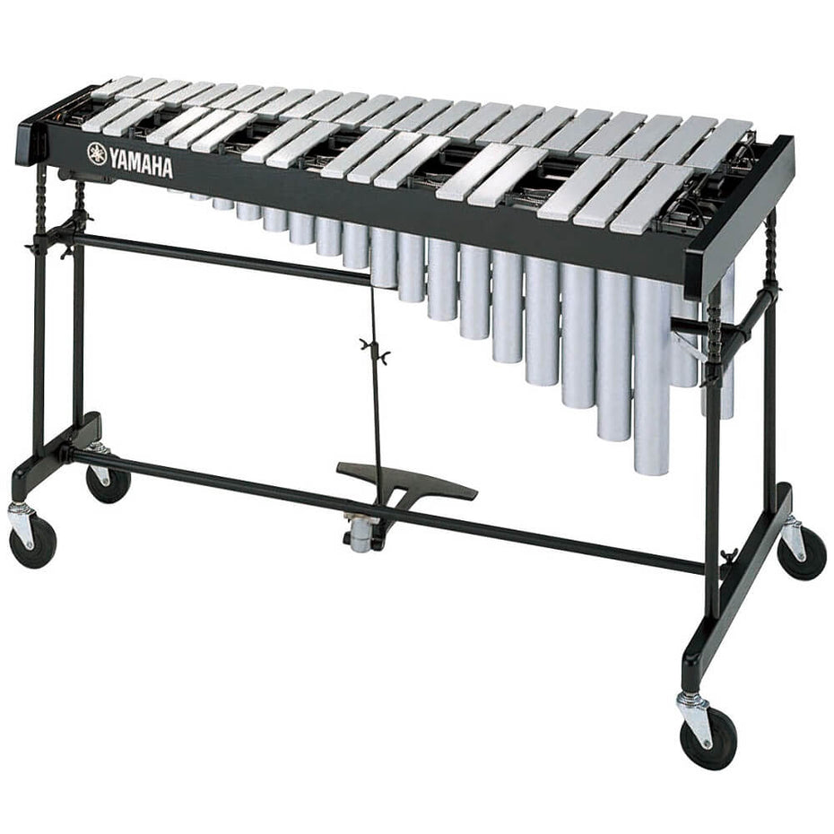 YV2700 - Yamaha Studio vibraphone Silver satin finish alloy bars