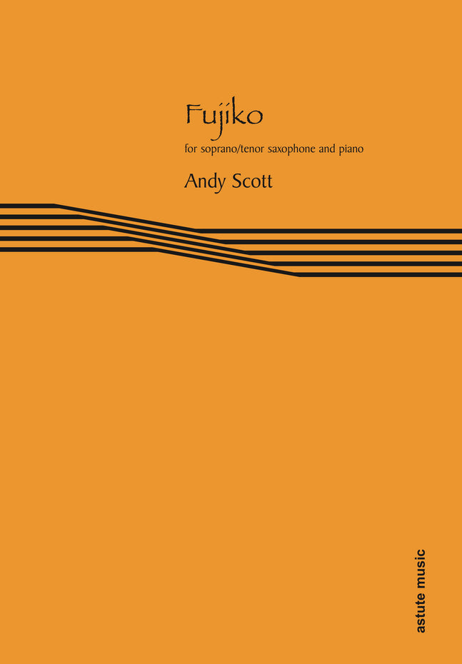 AM104-11 - Fujiko for soprano/tenor saxophone and piano Default title