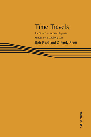 AM242-09 - Time Travels for Saxophone (part only) Default title