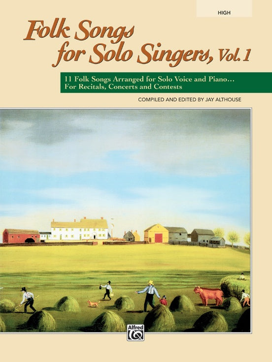 ALF21836 - Folk Songs for Solo Singers Vol 1 High Default title
