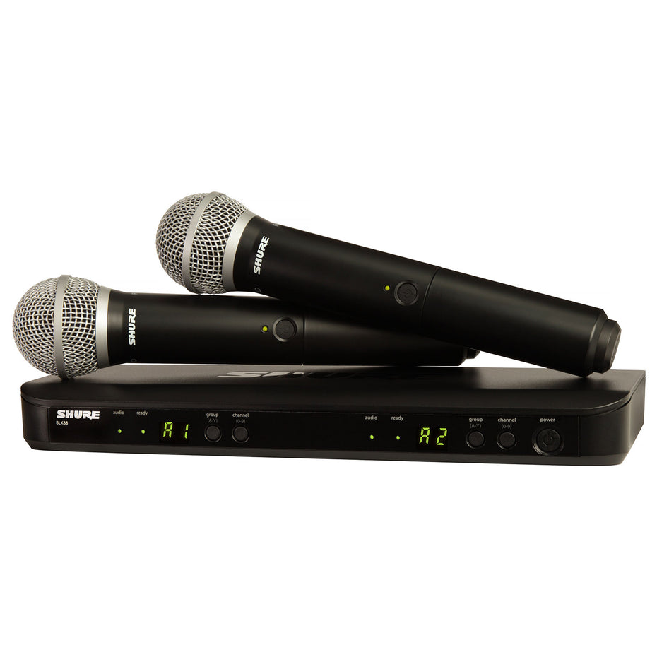 BLX288-PG58 - Shure wireless dual handheld system with 2 microphones Default title