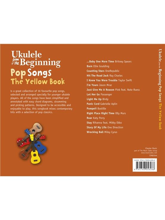 CH82544 - Ukulele From The Beginning - Pop Songs (Yellow Book) Default title