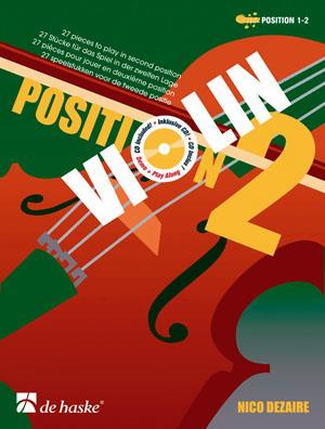 DHP1033440-400 - Violin Position 2: 27 pieces to play in the second position Default title