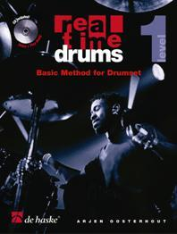 DHP1033444-400 - Real Time Drums 1 (ENG): Basic Method for Drumset Default title