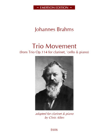JE-E606 - Trio Movement from Op 114 Default title