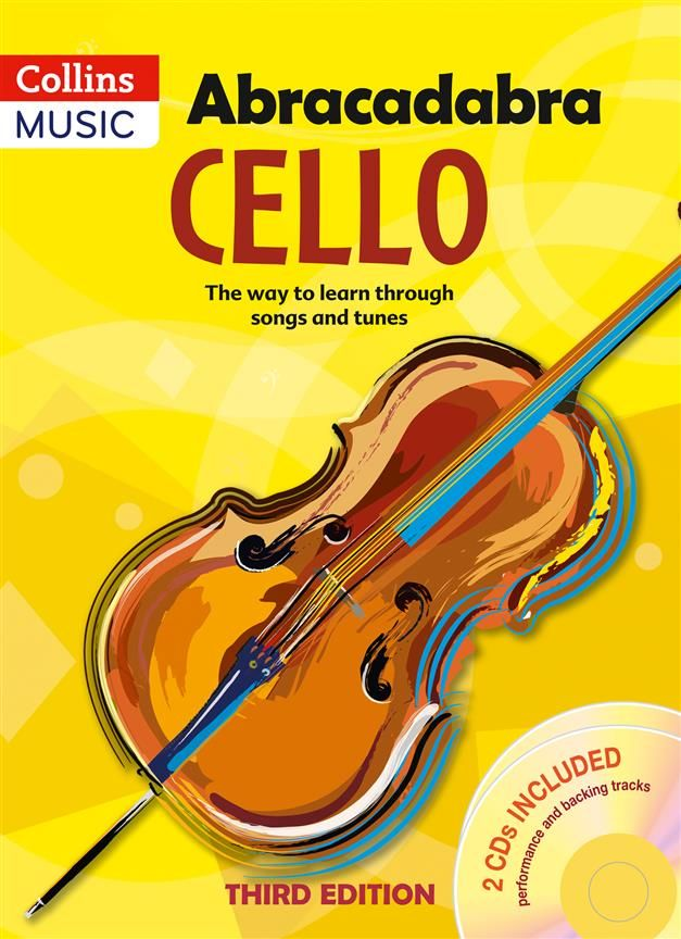 ACB-114629 - Abracadabra Cello + CD Third Edition Default title
