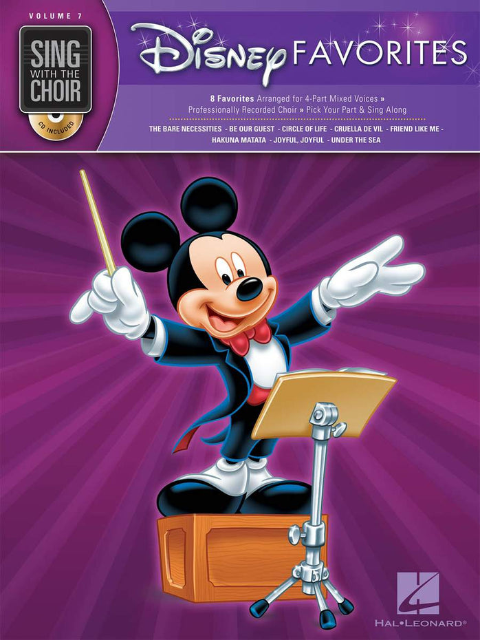 HL00333007 - Sing with the Choir Volume 7: Disney Favourites Default title