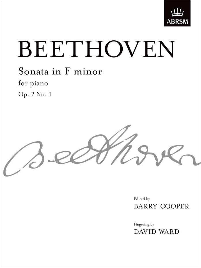 AB-48491946 - Sonata in F minor, Op. 2 No. 1 Default title