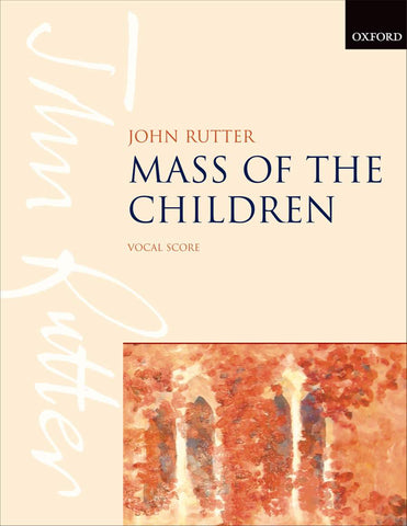 OUP-3380943 - Mass of the Children: Vocal score Default title