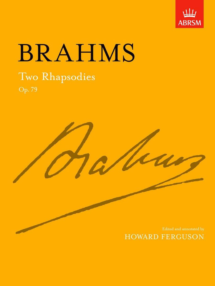 AB-54723383 - Two Rhapsodies Op. 79 Default title