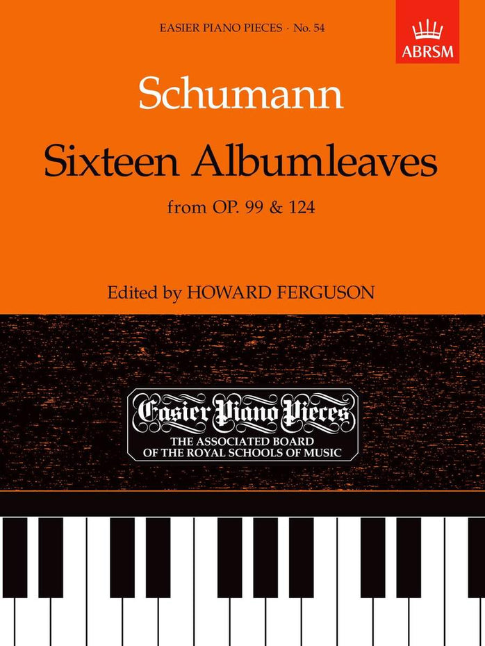 AB-54723215 - Sixteen Albumleaves, from Op.99 & 124 Default title