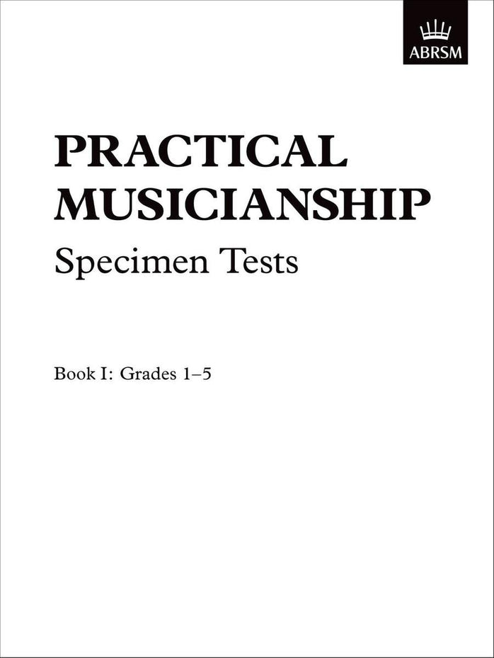 AB-54724175 - Practical Musicianship Specimen Tests, Grades 1-5 Default title