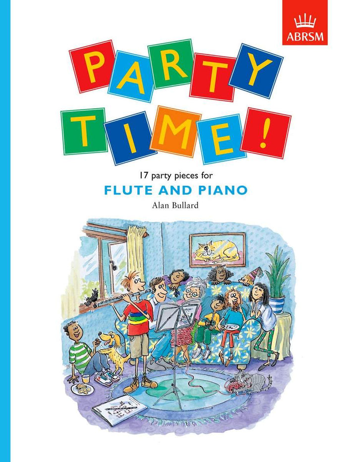 AB-54729224 - Party Time! 17 party pieces for flute and piano Default title