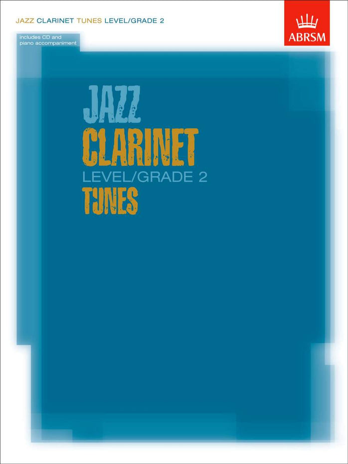 AB-60963025 - Jazz Clarinet Level/Grade 2 Tunes/Part & Score & CD Default title