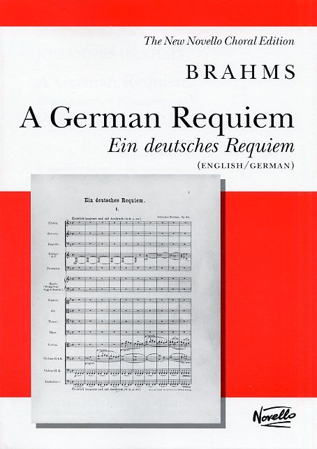NOV072492 - A German Requiem (Ein deutsches Requiem) vocal score Default title