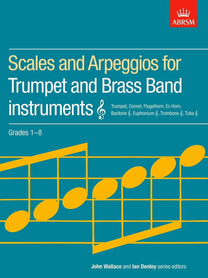 AB-54728517 - Scales and Arpeggios for Trumpet & Brass Band Instruments, Grades 1-8 Default title