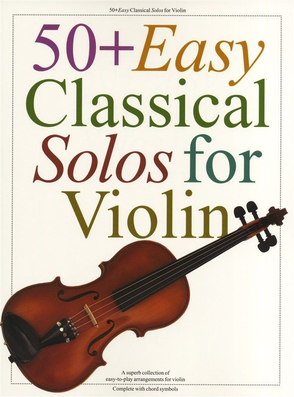 AM932096 - 50+ Easy Classical Solos for Violin Default title