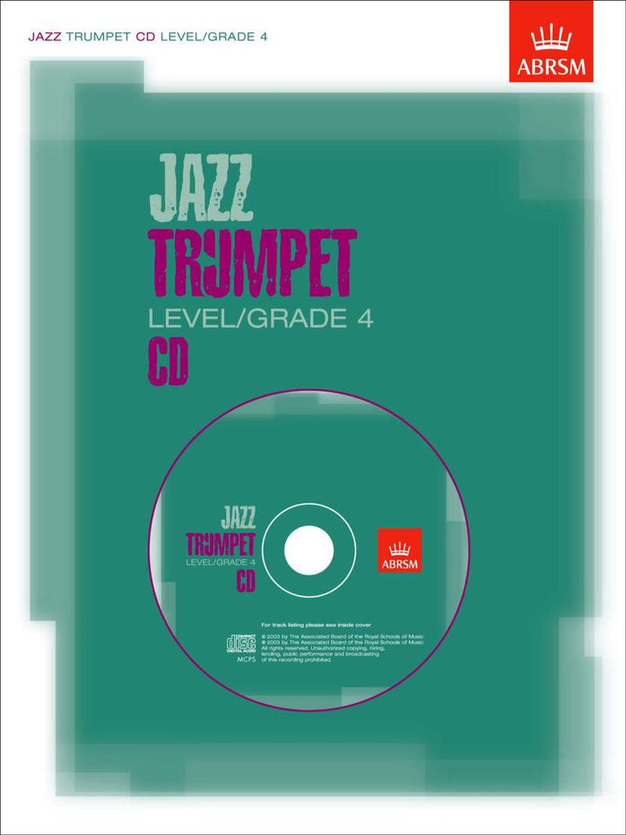 AB-60963261 - Jazz Trumpet CD, Level/Grade 4 Default title