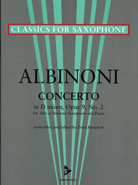 ADV7042 - Concerto in D Minor, op. 9/2 Default title