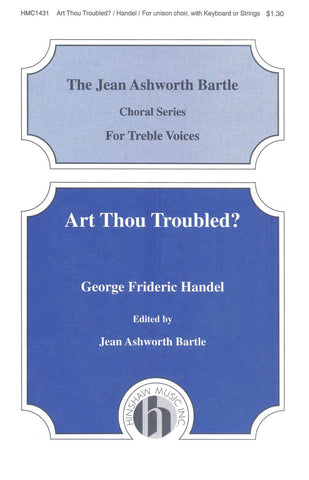 HMC1431 - Handel - Art Thou Troubled - Unison Default title
