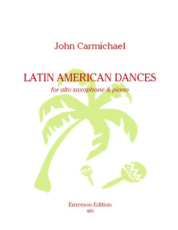 JE-EE486 - Latin American Dances for alto saxophone and piano Default title