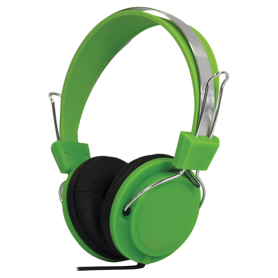 G141EG - Soundlab stereo headphones Green