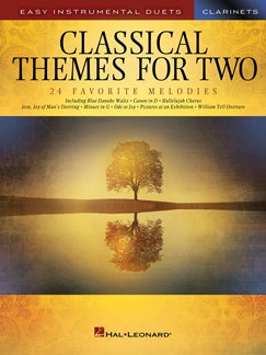 HL00254440 - Classical Themes for Two Clarinets Default title