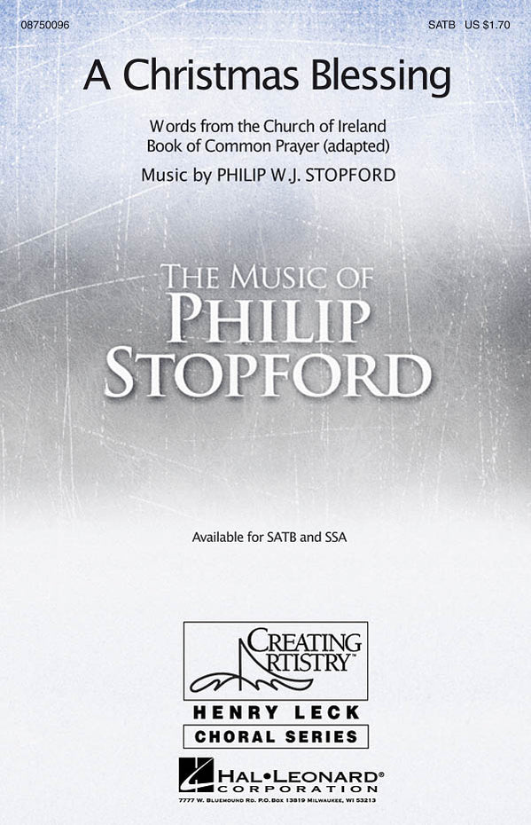 HL08750096 - Philip Stopford: A Christmas Blessing (SATB) Default title