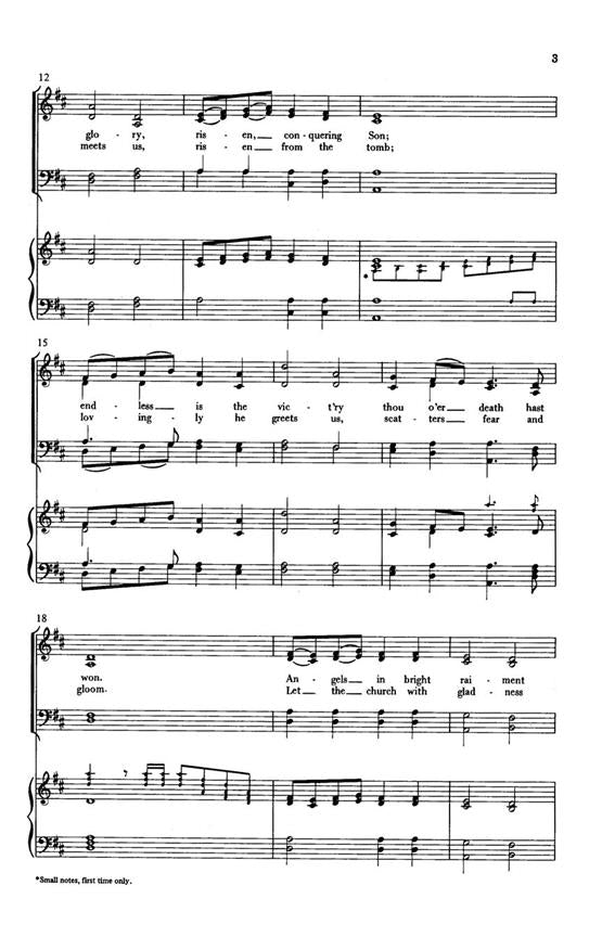 HMC1323 - Handel - Thine Be the Glory - SATB Default title