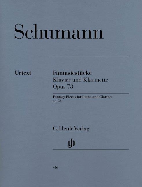 HN416 - Fantasy Pieces for Piano and Clarinet op. 73 Default title