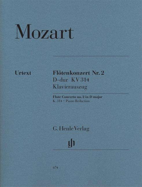 HN674 - Concerto for Flute & Piano D major KV 314 Default title